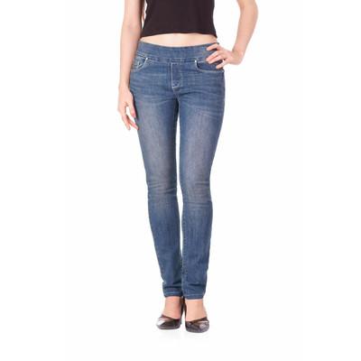 Bluberry women's Hollie Medium blue slim leg denim