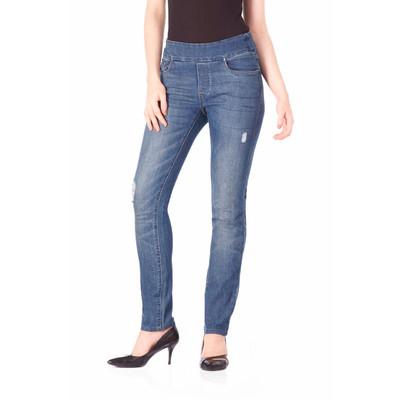 Bluberry women's Laura Medium blue slim leg denim