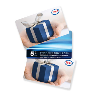 $234 Esso Gift Card Bundle - Celebrate 150 Years of Canada with the Esso Brand & Shop.ca!