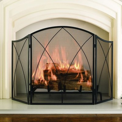 Pleasant Hearth - Arched Fireplace Screen
