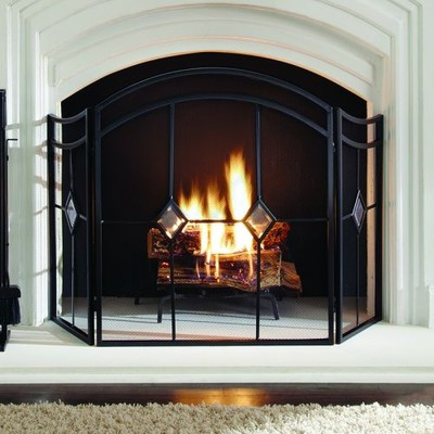Pleasant Hearth - Diamond Fireplace Screen