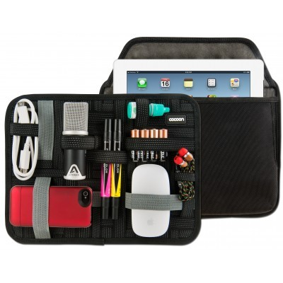"11"" GRID-IT!® Accessory Organizer with Tablet Storage Pocket"