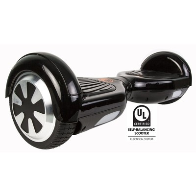 Gyrocopters Pro UL2272 certified Certified (Black) with Bluetooth Speaker - Hoverboard or Self balance board