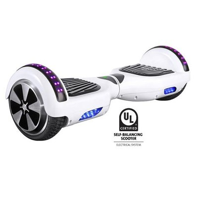 Gyrocopters L1 UL2272 certified Certified (White) with Bluetooth Speaker - Hoverboard or Self balance board