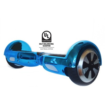 Gyrocopters L1 UL2272 certified Certified (Chrome Blue) - Hoverboard or Self balance board