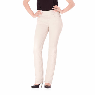 Bluberry women's Ivy premium rinse vanilla straight leg denim