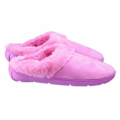 Conair Massaging Slippers for Women, Size 6-8.5, Pink (VSW32B)