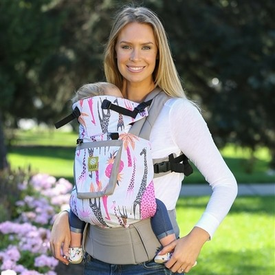 Lillebaby Complete 6-in-1 Baby Carrier – Original (High Hopes Pink Giraffe)