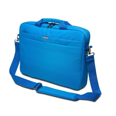 """Kensington LS240 Top Loading Carrying Case for 14.4"""" Laptop and 10"""" Tablet - BLUE"""