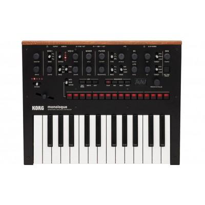 Korg monologue Monophonic Analogue Synthesizer - Black - Korg - MONOLOGUEBK