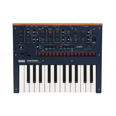 Korg monologue Monophonic Analogue Synthesizer - Korg - MONOLOGUEBL