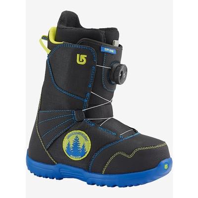 Burton Zipline BOA Snowboard Boot - Blue / Black / Yellow - Size 6K
