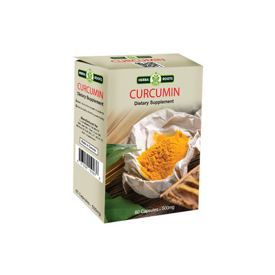 Curcumin Dietary Supplement Capsules