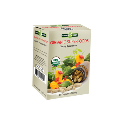 Organic Superfoods Dietary Supplement