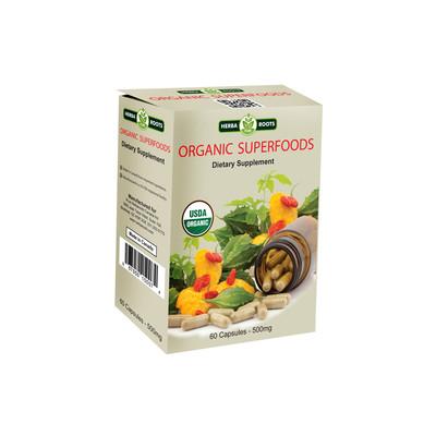 Organic Superfoods Dietary Supplement