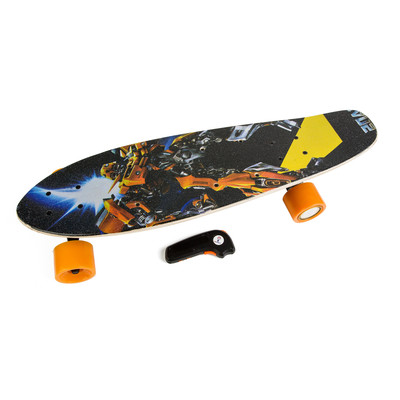Electric Skateboard IMDeck (Prime)  - with amazing graphics, next gen motorized wheel with wireless remote and rechargeable battery