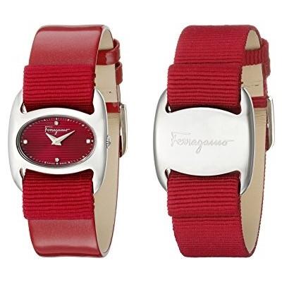 Salvatore Ferragamo Women's FIE010015 Varina Red Watch With interchangeable Band