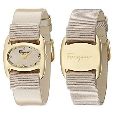 Salvatore Ferragamo Women's FIE030015 Varina Beige Watch With interchangeable Band by Salvatore Ferragamo