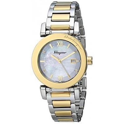 Salvatore Ferragamo Women's FP1870014 Salvatore Two-Tone Stainless Steel Watch