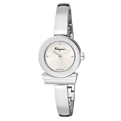 """Salvatore Ferragamo Women's FQ5010013 """"Gancino"""" Stainless Steel Watch"""