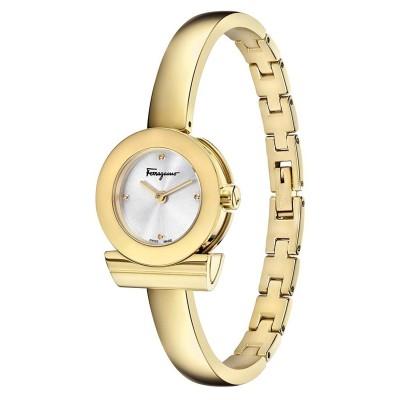 Salvatore Ferragamo Women's FQ5040013 Gancino Gold Ion-Plated Watch