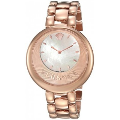 Versace Women's 'PERPETUELLE' Swiss Quartz Stainless Steel Casual Watch, Color:Rose Gold-Toned (Model: VAQ050016)
