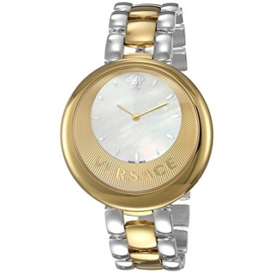 Versace Women's 'PERPETUELLE' Swiss Quartz Stainless Steel Casual Watch, Color:Two Tone (Model: VAQ060016)