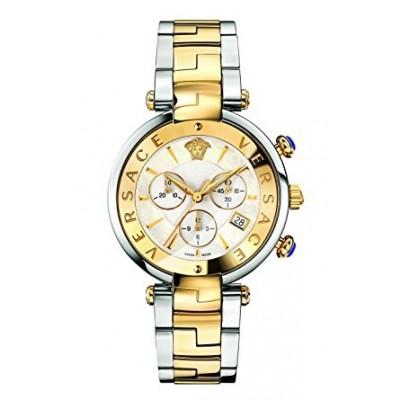 Versace Women's 'REVE' Swiss Quartz Stainless Steel Casual Watch, Color:Two Tone (Model: VAJ050016)