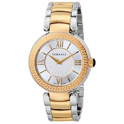 Versace Women's VNC050014 Leda Gold Ion-Plated and Stainless Steel Watch