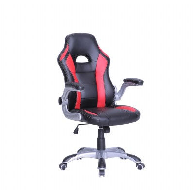 TygerClaw Executive High Back Gaming Style Chair Black and Red