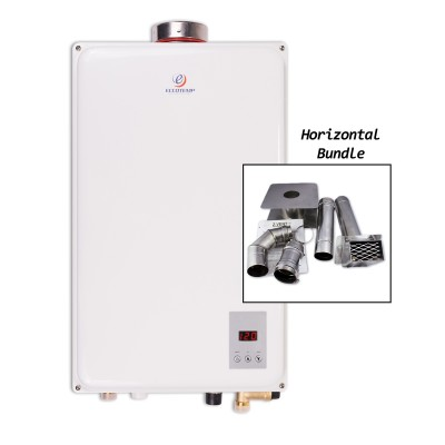 Eccotemp 45HI-LP Indoor Liquid Propane Tankless Water Heater Horizontal Bundle