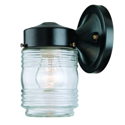 Builders' Choice 1-Light Jelly Jar Wall Mount