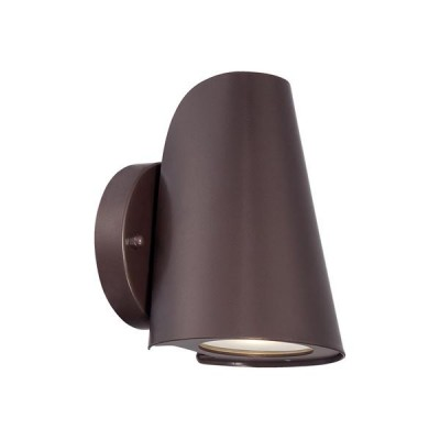Outdoor Cast Aluminum 1-Light LED Wall Sconce
