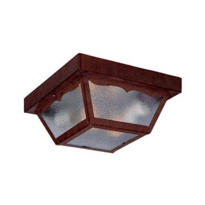 Builders' Choice 2-Light Outdoor Flushmount