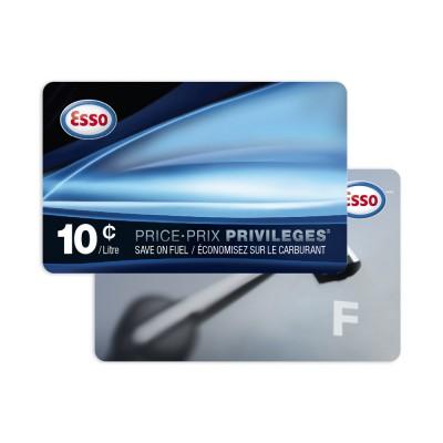 Esso 10¢/Litre Fuel Savings Card & $10 Bonus Gift Card