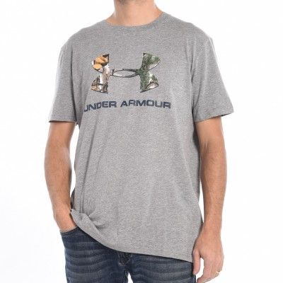 Men's T-shirt in Grey and Camo