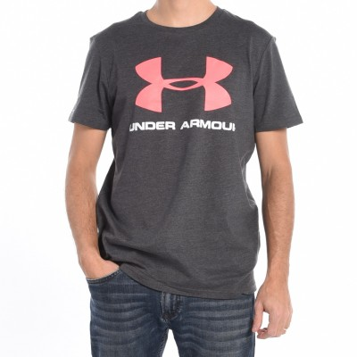 Men's T-shirt in Charcoal