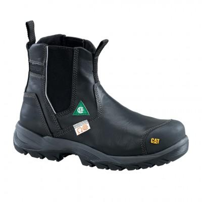 Cat Men's Propane CSA Work Boot in Black