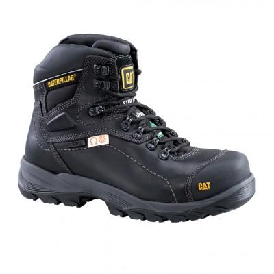 Cat Men's Diagnostic Hi CSA Work Boot in Black