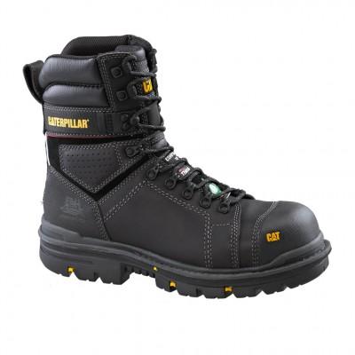 """Cat Men's Hauler 8"""" CSA Work Boot in Black"""