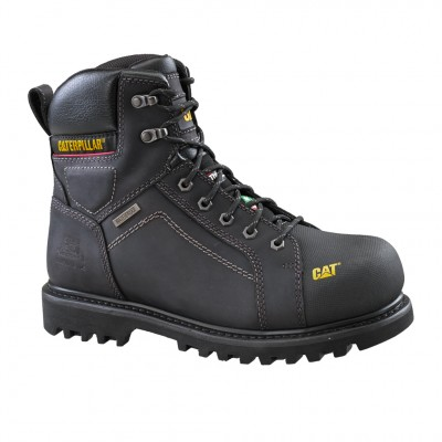 "Cat Men's Control 6"" Work Boot in Black"