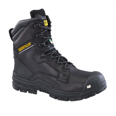 Cat Men's Scaffold Work Boot in Black