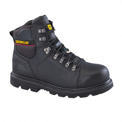 Cat Men's Alaska 2.0 Work Boot in Black