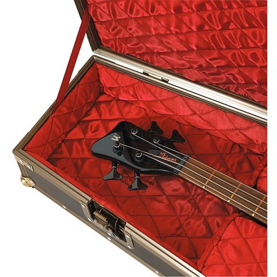 Case Guitar Bass Casket Flight - Black