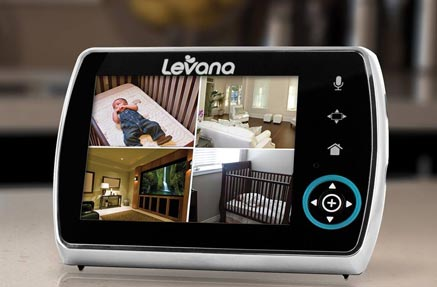 A baby monitor with video