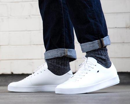 White Boxfresh Sneakers